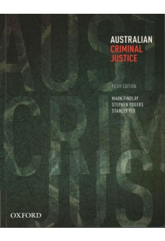 Australian criminal justice findlay odgers yeo the co op fandeluxe Choice Image