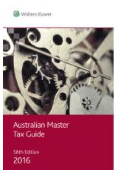 australian master tax guide 2016 cch the co op. Black Bedroom Furniture Sets. Home Design Ideas