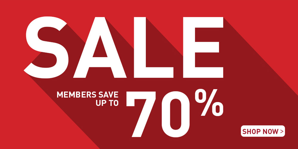 Members save up to 70%