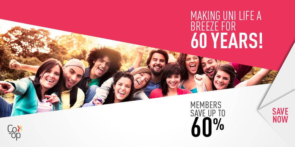 60 Years, members save 60%