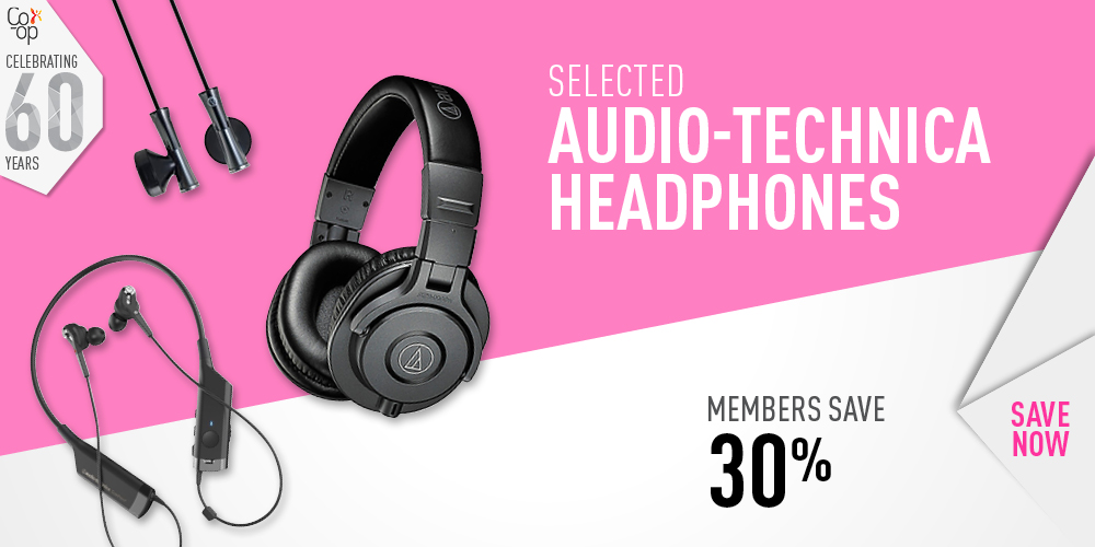 Audio-Technica Save 30%