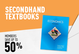 50% off second hand textbooks