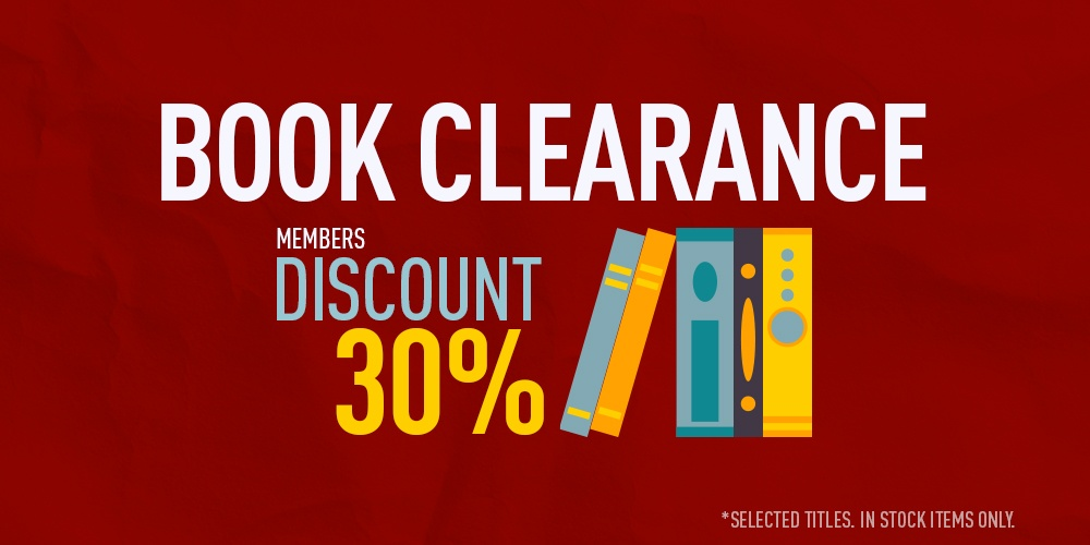 30% off selected books