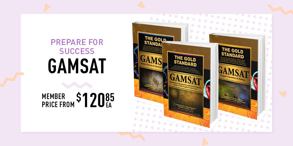 GAMSAT Textbooks