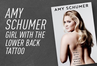 Amy Schumer Girl with the Lower Back Tattoo