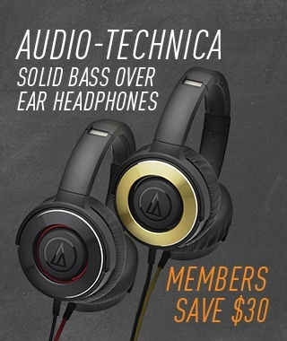 Audio Technica Solid Bass Over Ear Headphones